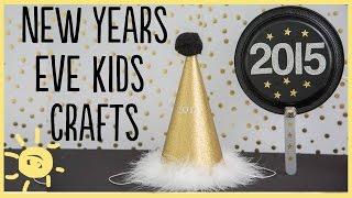 DIY | New Years Kid Crafts