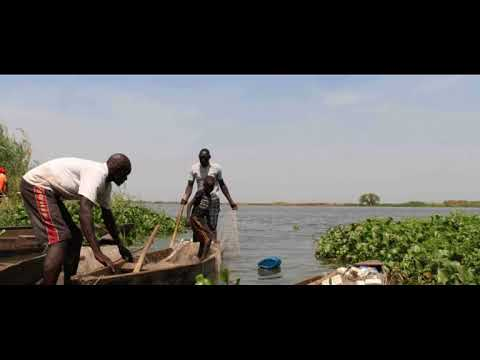 Lake Yirol in South Sudan