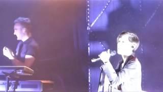 Tegan & Sara: Part of _spanking_ banter, band intros First Avenue Minneapolis June 16 2014