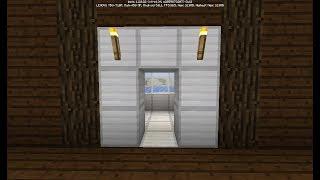 Mcpe Redstone Tutorial - Epic Slimeblock Elevator!! By Indian Power