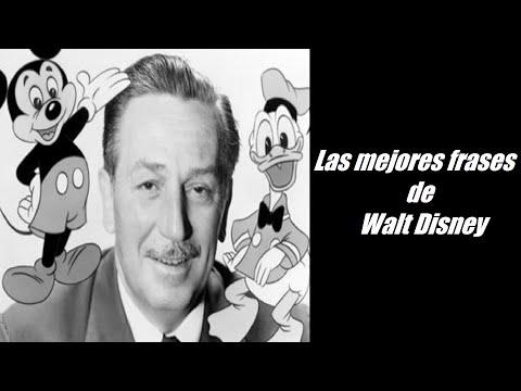Las 10 Mejores Frases Celebres De Walt Disney