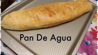 Receta de Pan de Agua🇵🇷🍞💦