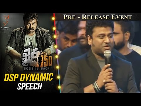 Thumbnail: DSP Dynamic Speech @ Khaidi No 150 Pre Release Event || V V Vinayak