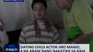 Saksi: Dating child actor Jiro Manio, 4 na araw nang nakatira sa NAIA