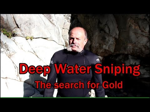 Deep water sniping with a hookah air system.