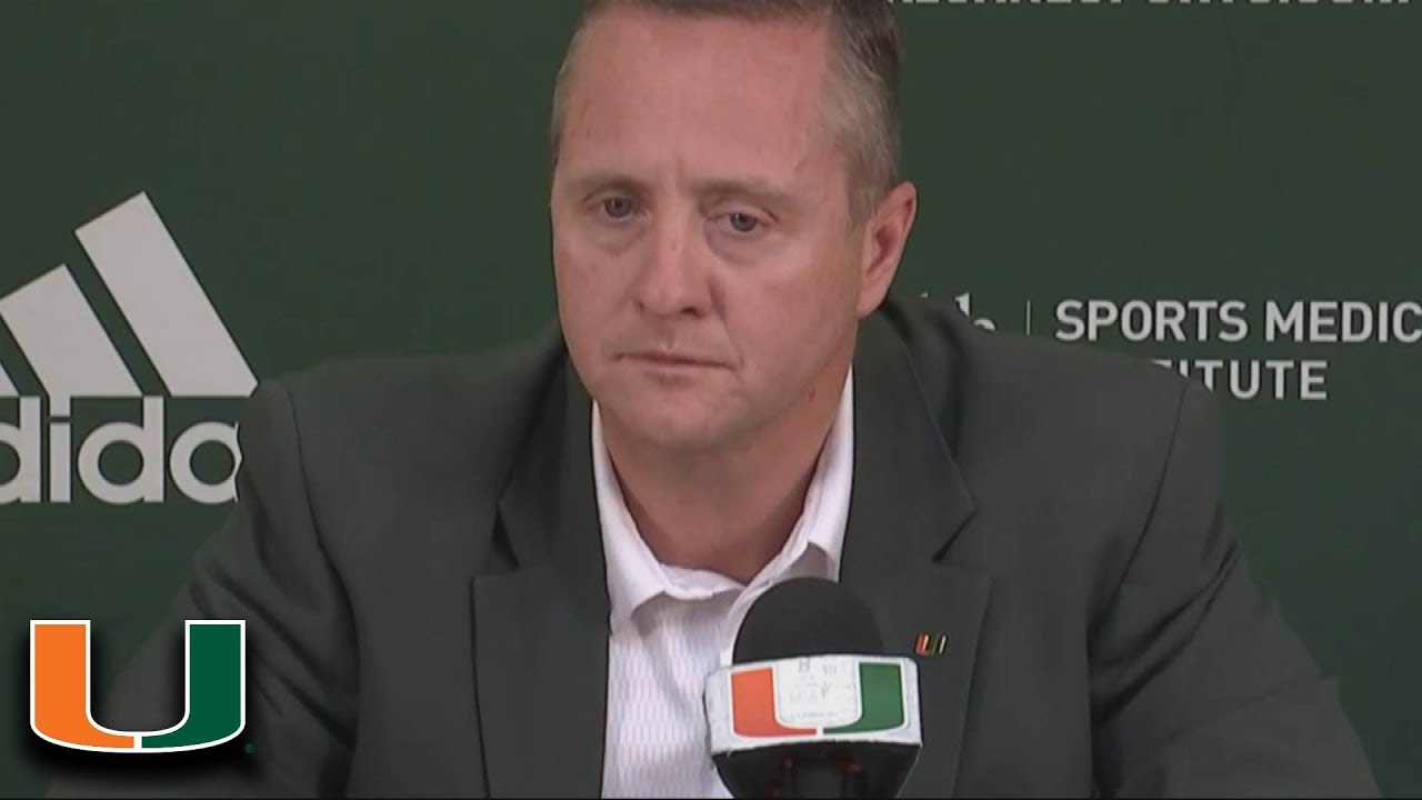 """Miami AD Blake James: """"He Made His Decision Out Of Love ..."""