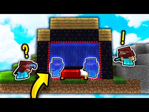 UNBREAKABLE BED DEFENSE STRATEGY?! (Minecraft Bed Wars)