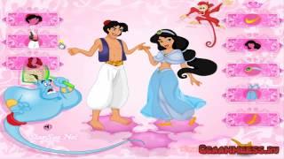 Игры для девочек Алладин и Жасмин