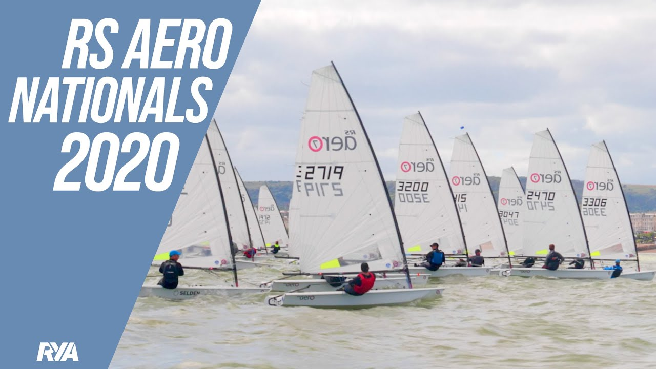 RS AERO NATIONALS 2020 - High winds and big waves in Eastbourne