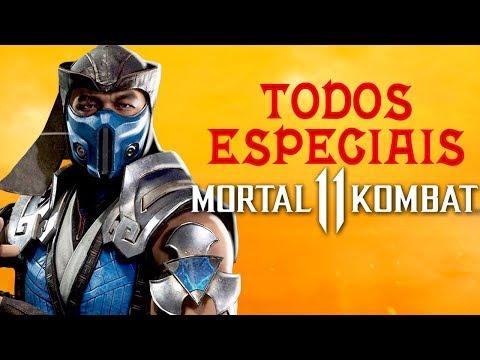 Mortal Kombat 11 - Todos os ESPECIAIS, Fatal Blow, revelados até agora thumbnail