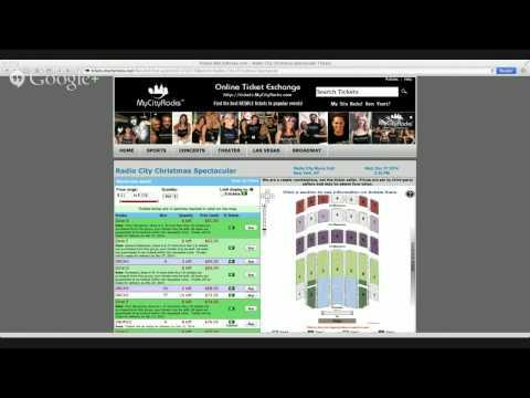 Radio City Rockettes Christmas Spectacular Tickets NYC New York City NY Music Hall RCMH
