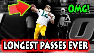 Longest Passes in Football History (NFL) thumbnail
