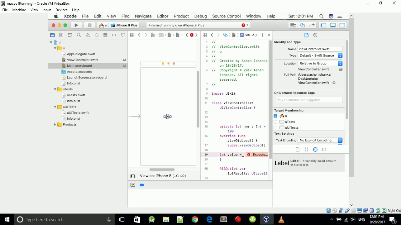 How to Convert Integer value to String on Swift XCode - iOS App Development