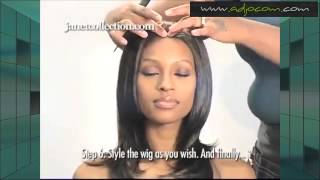 comment laver lace wig