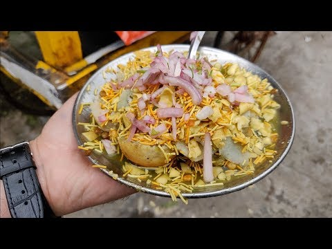 Button Papdi Chaat Of Ulhasnagar | Popular Sindhi Chaat | Indian Street Food