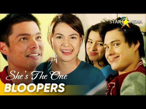 [Must-see Bloopers] 'She's The One' - Bea Alonzo, Dingdong Dantes, Enrique Gil, Liza Soberano - 동영상