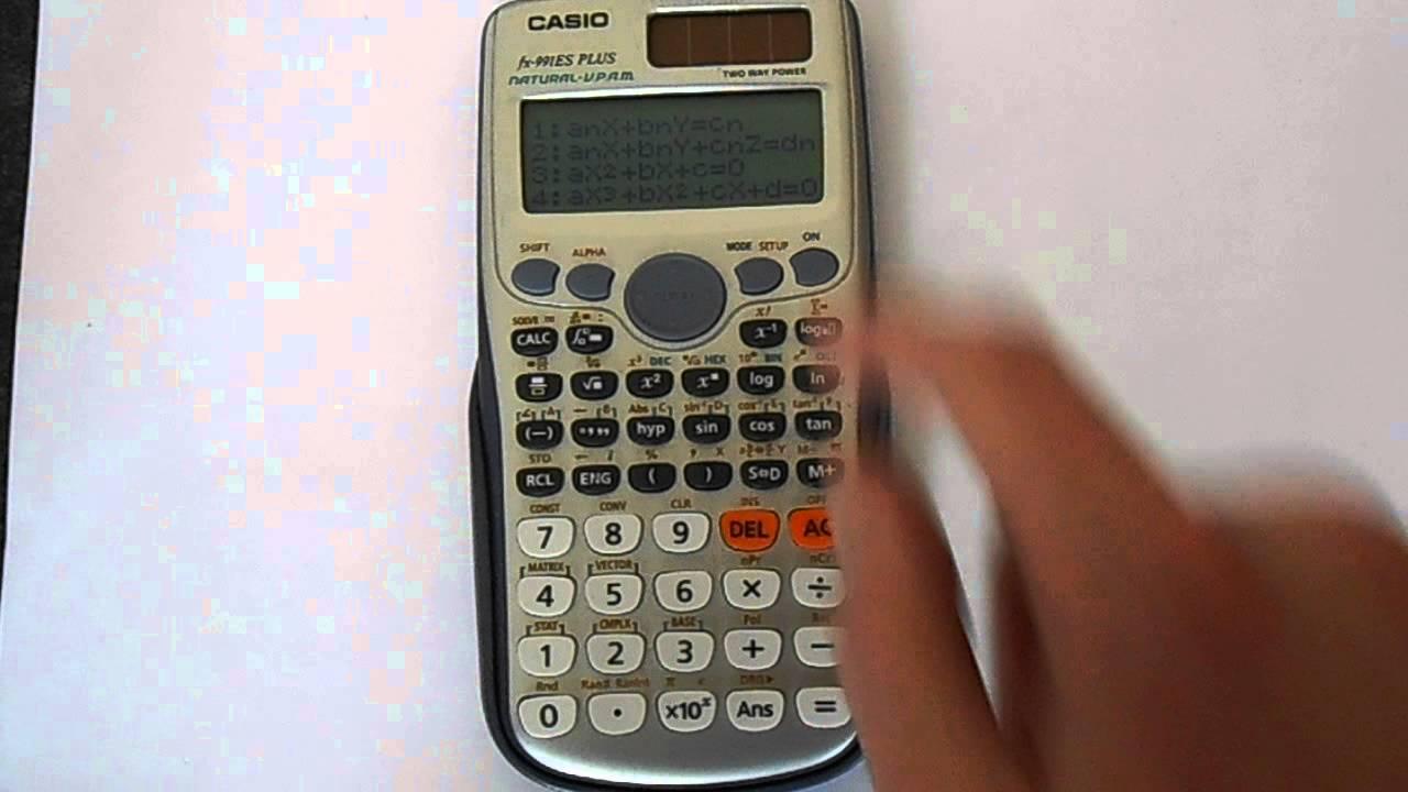 Casio scientific calculator fx 991es plus, casio basic calculator.