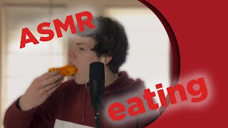 ASMR EATING a frikandel bun | duncte123