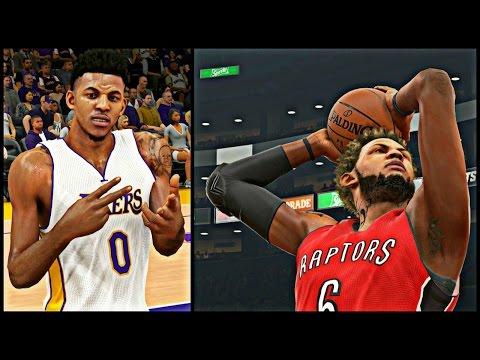 NBA 2K15 MyCAREER S3 - KOBE LEFT THE LAKERS !   Lakers Alternate White Jerseys CLEAN !