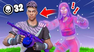 GHOST GIRLFRIEND *HAUNTS* ME in FORTNITE!
