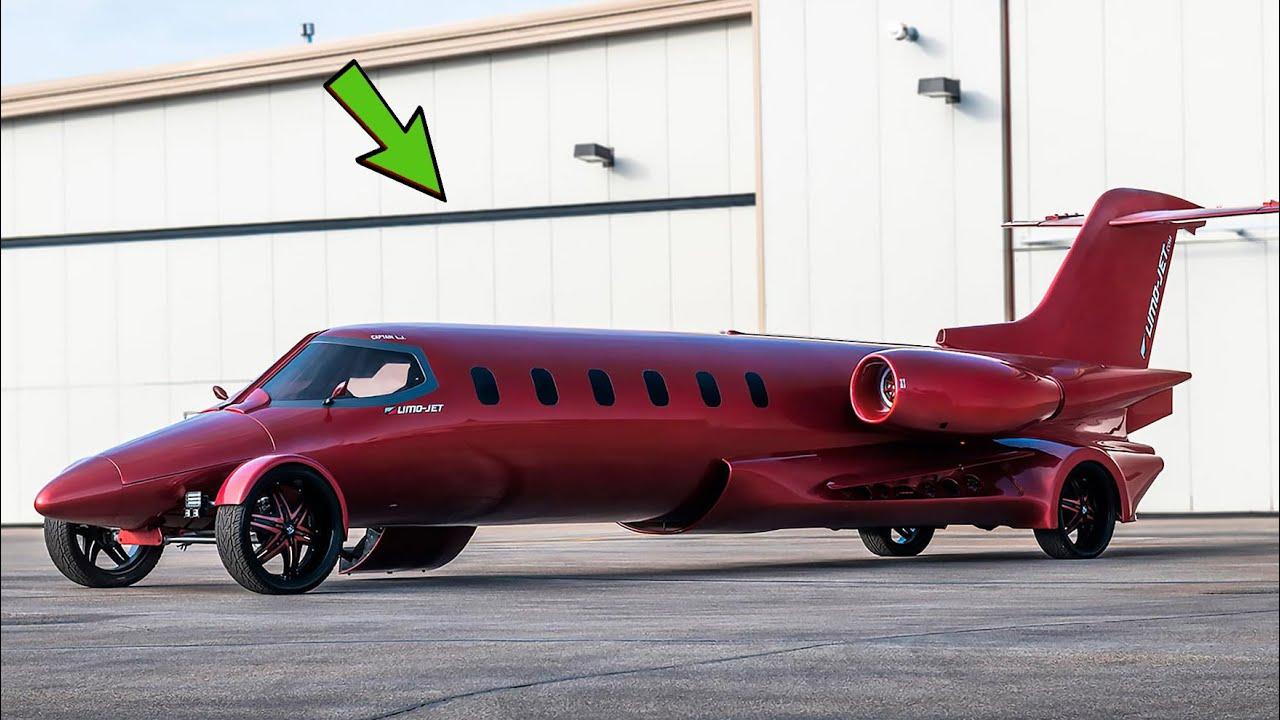 लोग इसे एक प्लेन समझ रहे थे लेकिन ये तो कार निकला | Amazing modern Machine that will Blow your Mind