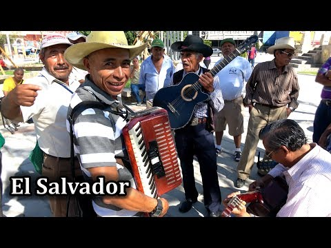 El Salvador 2018 - Street Music in San Salvador 4K
