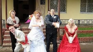 Красивые невесты и женихи. Приколы на свадьбах.