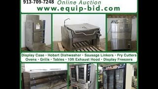 Equip-bid.com - West Bottoms Restaurant Equipment Warehouse Liquidation