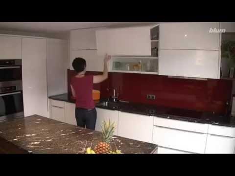 Bisagras abatibles aventos de blum para cocina youtube - Bisagras para muebles de cocina ...