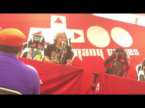 Kenny James (THE VOICE OF BOWSER) Panel - TooManyGames 2018