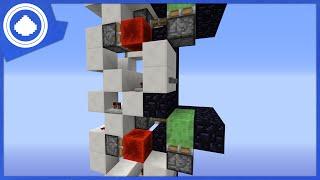 Morezysminecraft Minecraft 1 8 Multi Floor Slime Block Elevator