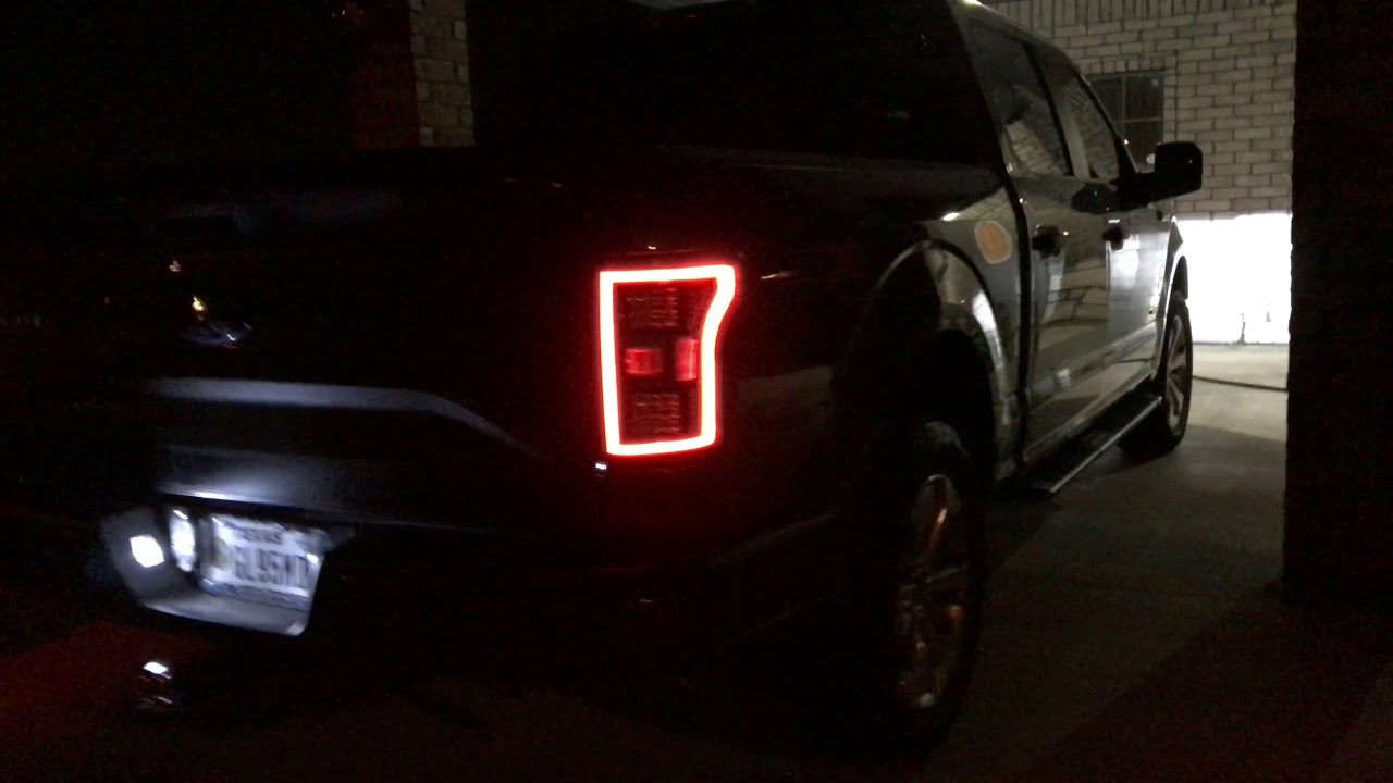 2017 F150 Led Tail Lights And Headlights Youtube