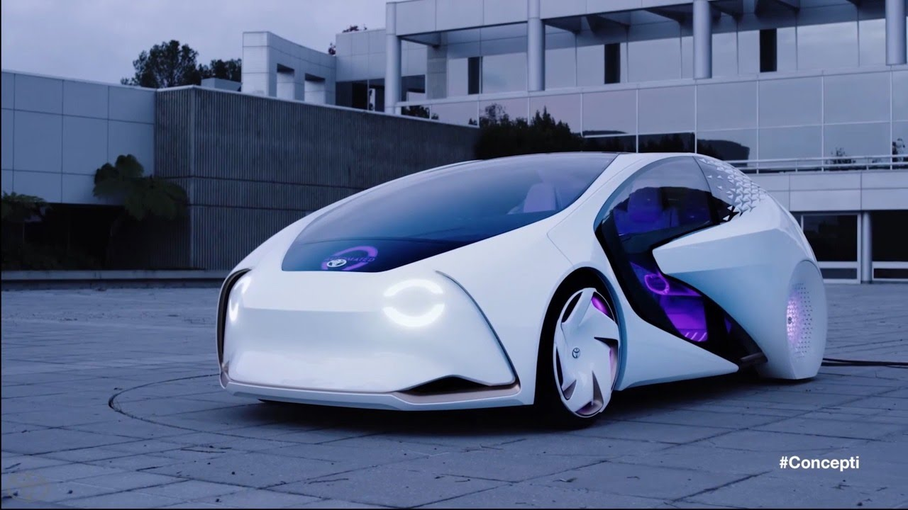 Toyota Concept I Official Trailer Ces 2017 Youtube