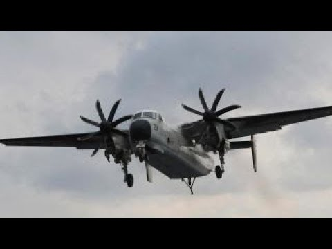 3 missing after Navy plane crashes in the Pacific