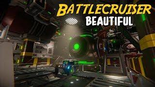 Most Beautiful Battlecruiser? - Space Engineers (Graphic Revamp)