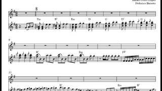 Ódiame/ Vals peruano-Conjunto Bernal-Partitura voz+acordeón