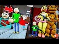 CAN ADVENTURE BALDI & ANIMATRONICS ESCAPE BALDI'S BASICS SCHOOLHOUSE? (GTA 5 Mods FNAF RedHatter)