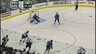 2001 Stanley Cup Playoffs Conference Finals Game 5 St Louis at Colorado