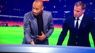 Thierry Henry analyses Alexandre Lacazette's debut for Sky Sports Monday Night Football Special