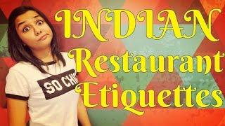 Indian Restaurant Etiquettes | MostlySane | Funny Videos 2016 | Prajakta Koli