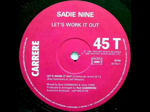 sadie nine let 39 s work it out 1987 youtube. Black Bedroom Furniture Sets. Home Design Ideas