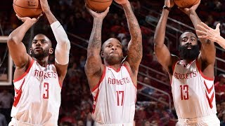 Rockets Drill 28 Three-Pointers Vs Shanghai Sharks | 2018 NBA Preseason