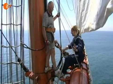 Russland - Aushilfsmatrose auf dem Segelschulschiff Sedov