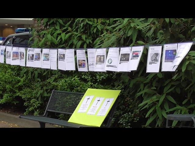 Mahnwache zum Gedenken der vielen Opfer von Merkels Politik