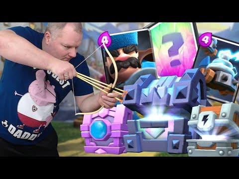 Otwieram Nowe skrzynie ! Polowanie na Nowe karty Zappies/Hunter ! Clash Royale Polska