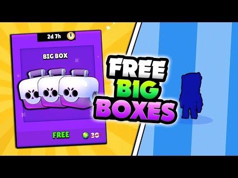 NEW FREE BRAWL BOXES & WE UNLOCKED A LEGENDARY IN BRAWL STARS! CROW SHOWDOWN GAMEPLAY!