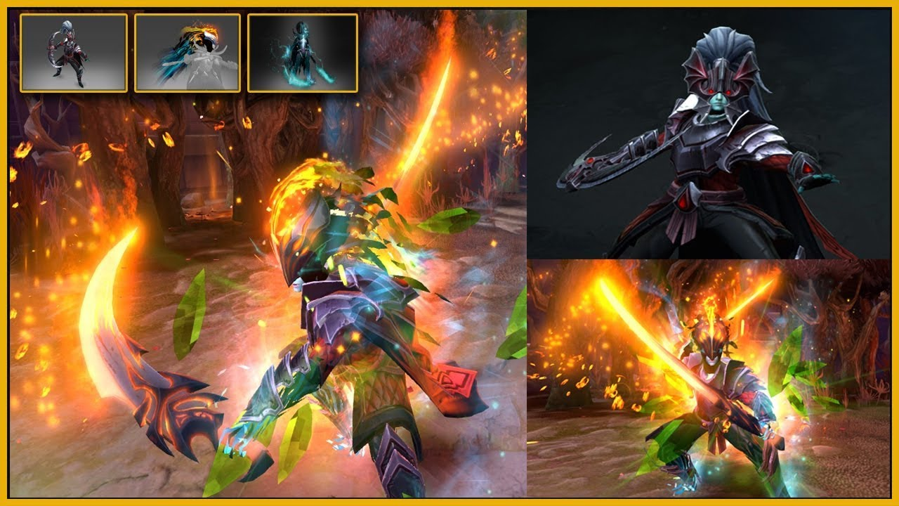 Dota 2 Immortal 12: DOTA 2 PHANTOM ASSASSIN + VISIONS OF THE LIFTED VEIL