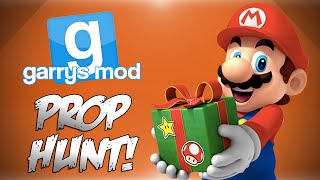 Gmod Christmas Prop Hunt! - Pressure Carols, Disconnect Trolling, All Wrapped Up! (funny Moments)
