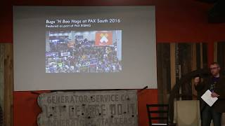 Geekend 2018 – Brian Canada – Southern Stories in Video Game Development