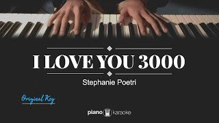 I Love You 3000 (KARAOKE PIANO COVER) Stephanie Poetri